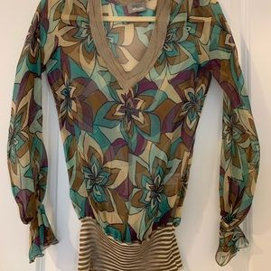 EUC Missoni Silk Blouse - 42 or XS/Small